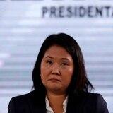 """Fujimori ve fraude en las elecciones y cree que la """"izquierda internacional"""" está detrás"""