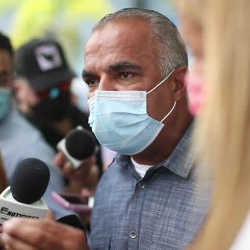 COVID-19: momento en que se contradicen Lornna Soto y el jefe de Salud