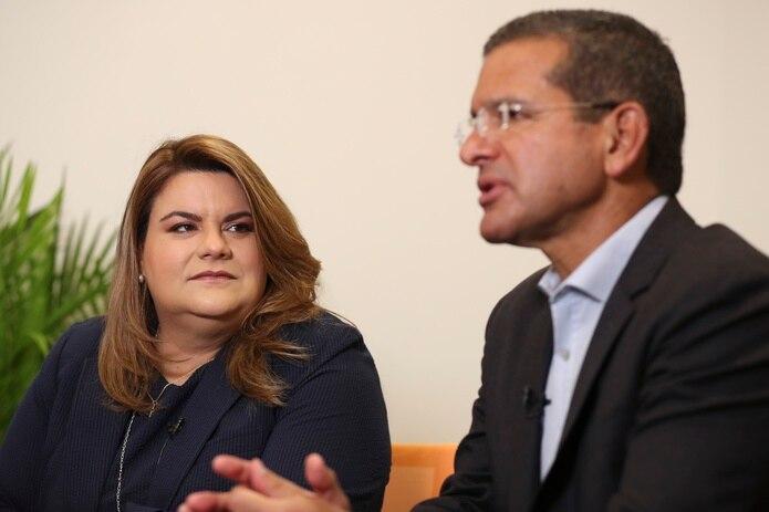 La comisionada residente Jenniffer González, y el gobernador Pedro Pierluisi defendieron el proyecto HR 1522 que impulsa un voto defenitivo de estadidad sí o no para admitir a Puerto Rico como estado.
