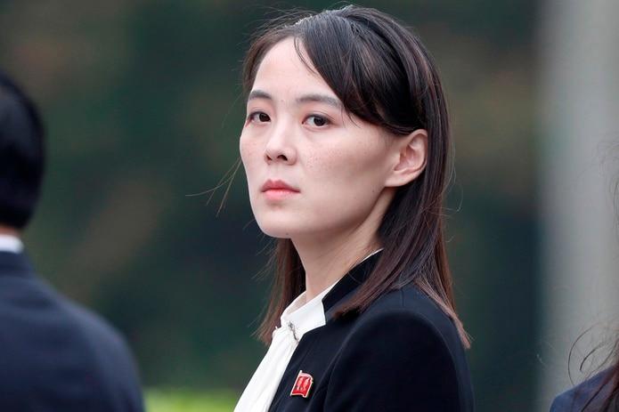 Kim Yo-jong, la hermana del líder norcoreano Kim Jong-un.