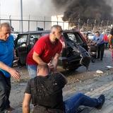 Impactantes imágenes tras la explosión en Beirut