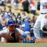 Javier Báez regresó a juego y ayuda a los Mets a vencer a los Dodgers