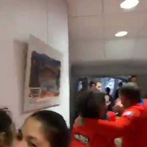 Equipo Nacional Femenino celebra su pase a las olimpiadas