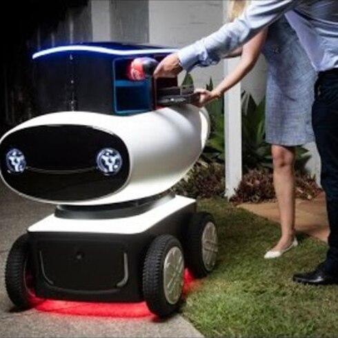 Robots entregarán pizza en Nueva Zelanda