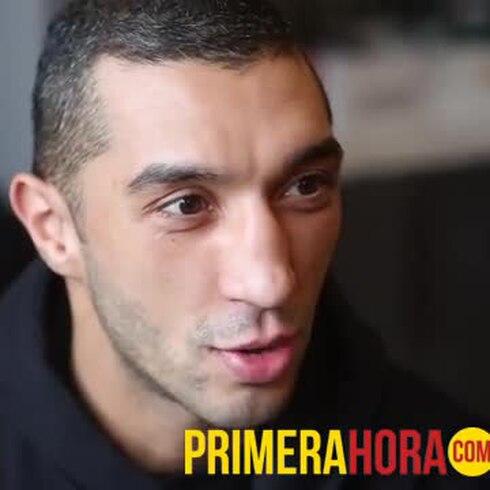 Karim El Ouzghari promete una buena pelea