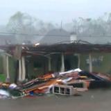Impactantes imágenes del huracán Delta en Lake Charles