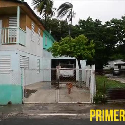 A refugiarse los residentes de Ponce