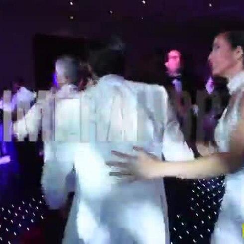 Shalimar Rivera y su novio bailan con sabrosura