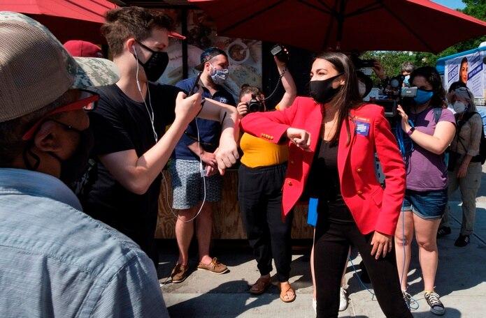 """""""El trato a Polanco dentro de Rikers es una parodia moral y, como ha confirmado el informe de la Junta de Corrección, en violación directa a su política"""", indicó la congresista Alexandria  Ocasio-Cortez."""