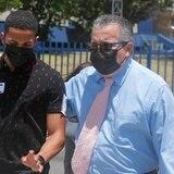 Félix Verdejo guarda silencio en su llegada al CIC sobre la desaparición de Keishla Marlen