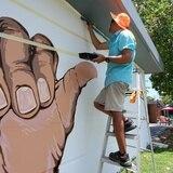 Camuy dedica mural a la comunidad sorda