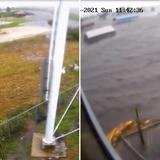 Increíble antes y después en New Orleans durante el huracán Ida