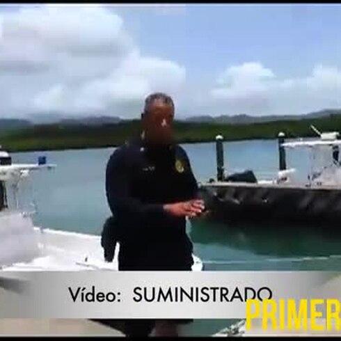 Se hunde bote confiscado a pescador