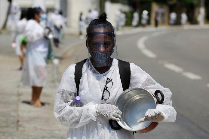 Los cacerolazos se han vuelto comunes alrededor del país en protesta por el manejo de la pandemia de parte del gobierno de Jair Bolsonaro.