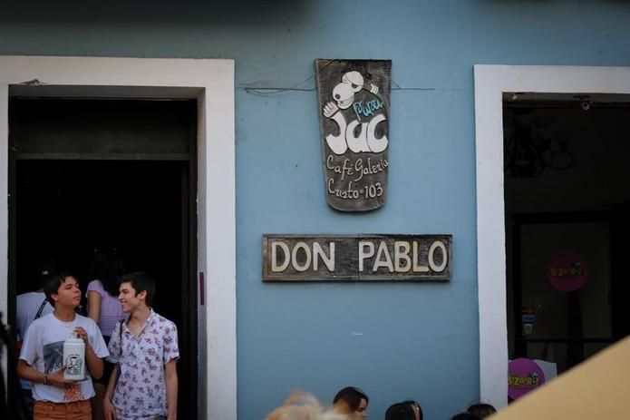 Barra Don Pablo en el Viejo San Juan. (Para Primera Hora / Ricky Reyes Vázquez)