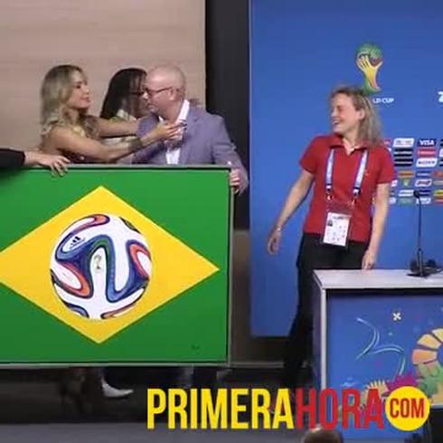 Lista la ceremonia de apertura de la Copa Mundial.