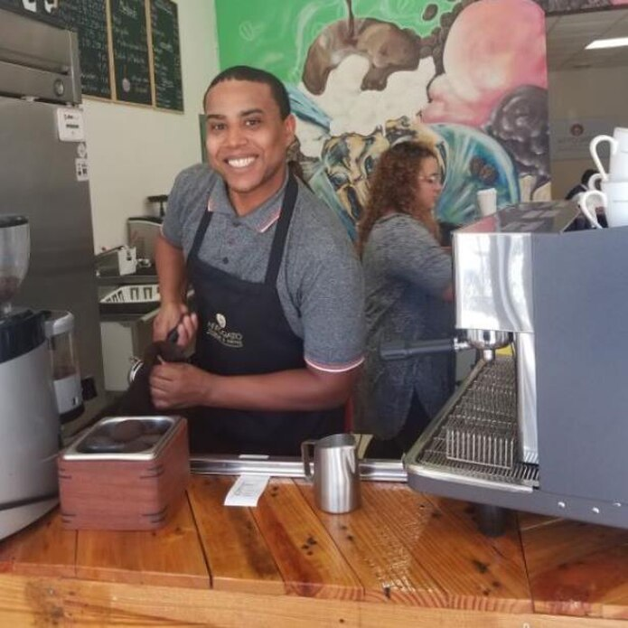 Josué apuesta a su concepto de café Affogato. (femmy.irizarry@gfrmedia.com)