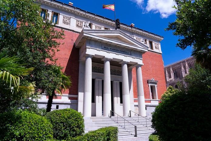 Sede de la Real Academia Española, en España.