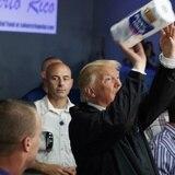 Donald Trump nos dejó con el mismo rollo