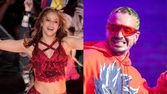 Shakira y J Balvin