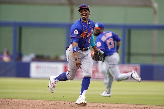 Francisco Lindor jugará en 2021 su primera temporada con los Mets de Nueva York.