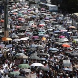 Universitarios marchan contra cambios al presupuesto educativo en Costa Rica