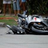 Conductor impacta a motociclista en Humacao