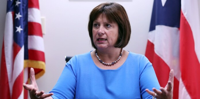Natalie Jaresko, directora ejecutiva de la Junta de Supervisión Fiscal. (Archivo)
