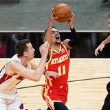 Los Hawks triunfan en el debut del dirigente Nate McMillan