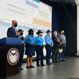Nuevo grupo de cadetes comienzan clases en la Academia de la Policía