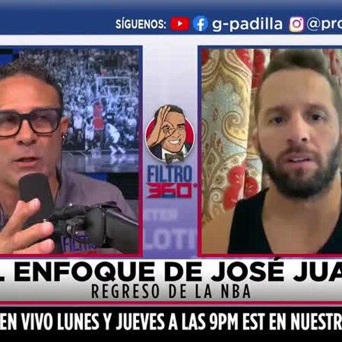 Entrevista a José Juan Barea desde la burbuja de la NBA en Orlando