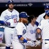 Los Dodgers ganan el primer partido de su serie y ponen en aprietos a los Brewers