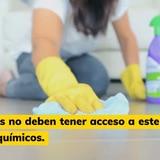 Consejos para usar desinfectantes de forma segura
