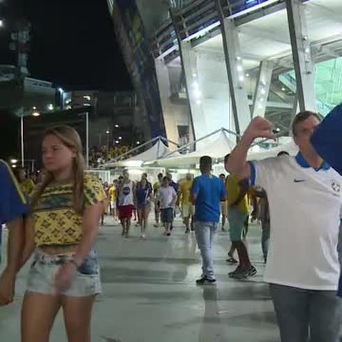 Desilusión entre los hinchas brasileños con el empate ante Venezuela