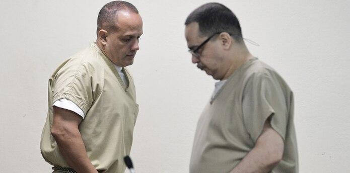 Los imputados Antonio Ramos Cruz y Juan Carlos Meléndez Serrano basarán su defensa en una nueva prueba de ADN, que no estaba disponible en 1992 cuando por unanimidad un jurado los encontró culpables. (gerald.lopez@gfrmedia.com)