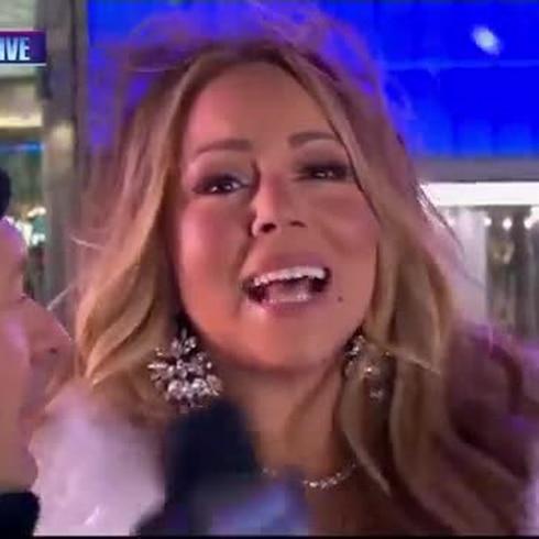 ¿Cantó bien o mal Mariah Carey en la despedida de TImes Square?