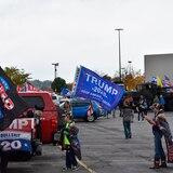 Trump lucha por no perder el corazón de Pensilvania, un estado clave