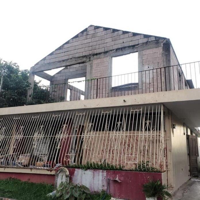 El lamentable suceso se registró en la urbanización Jardines del Caribe, calle 48, de Ponce.  (sandra.torres@gfrmedia.com)