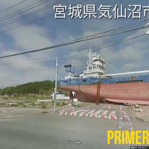 Imágenes de Google muestran el Japón devastado por el tsunami