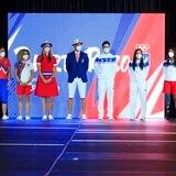 La inauguración de las Olimpiadas es también un desfile de modas