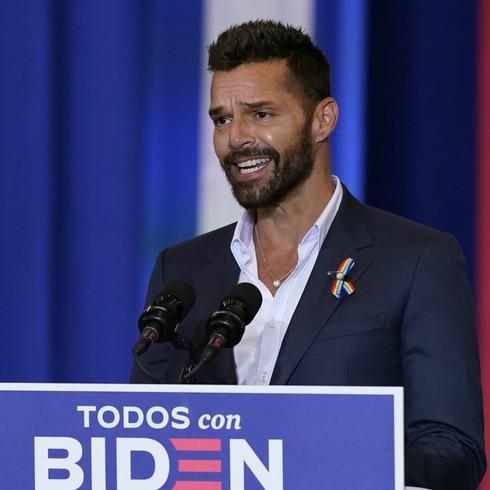 Ricky Martin arremete contra Trump