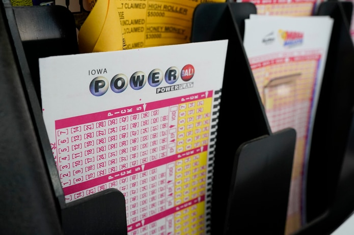 Ticket to play Powerball.