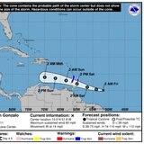 Tormenta tropical Hanna ganará fuerza y Gonzalo se acerca al Caribe