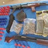 Ocupan armas largas, dinero y pirotecnia en Gurabo