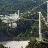 Aumenta riesgo de colapso del radiotelescopio de Arecibo