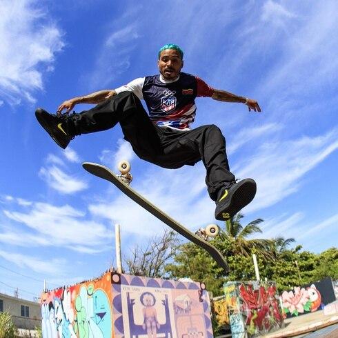 """Skaters Manny Santiago y Steven Piñeiro: """"Vamos a luchar pa' traer oro a Puerto Rico"""""""