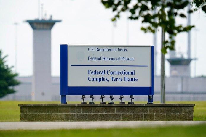 Complejo penitenciario de Terre Haute, Indiana, donde estaba programada para enero la ejecución de Lisa Montgomery, la única mujer en el pabellón de la muerte en Estados Unidos.