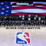 Emotivo e histórico reinicio de la NBA