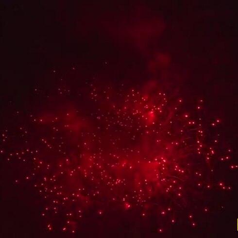 Fiesta de luces por la independencia de Estados Unidos
