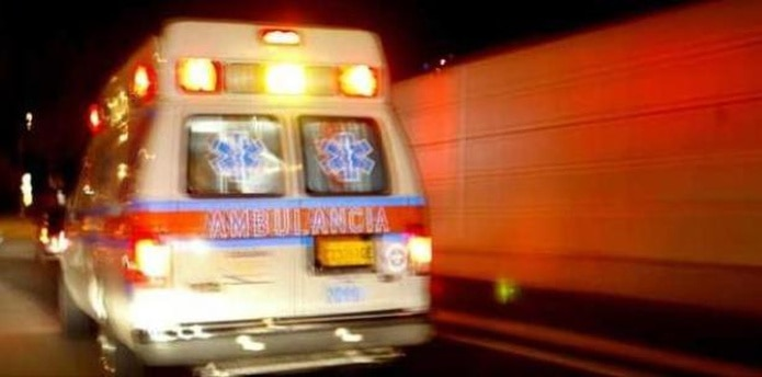 La agredida fue llevada a un hospital del área.